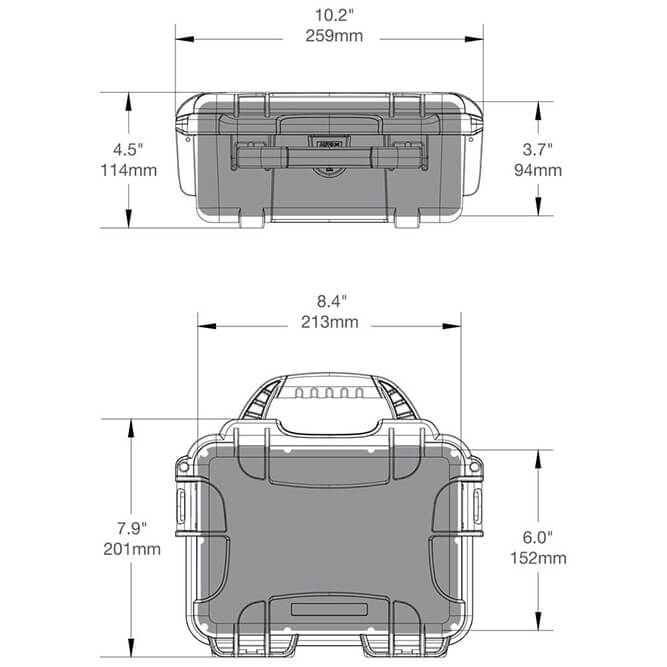 904 case dimensions