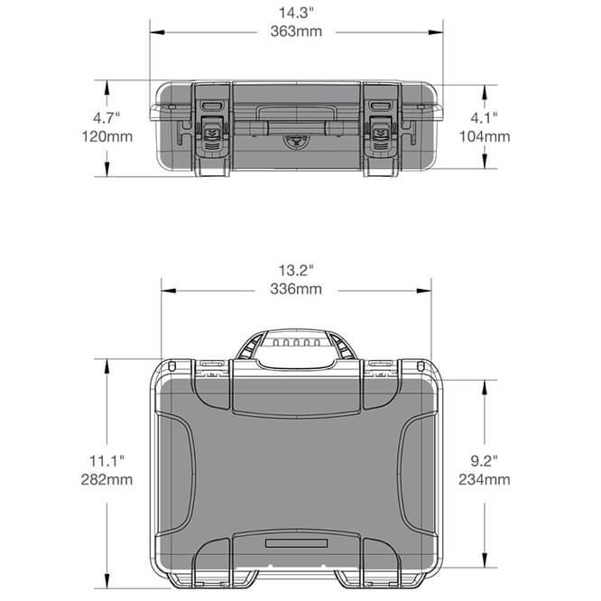 910 case dimensions