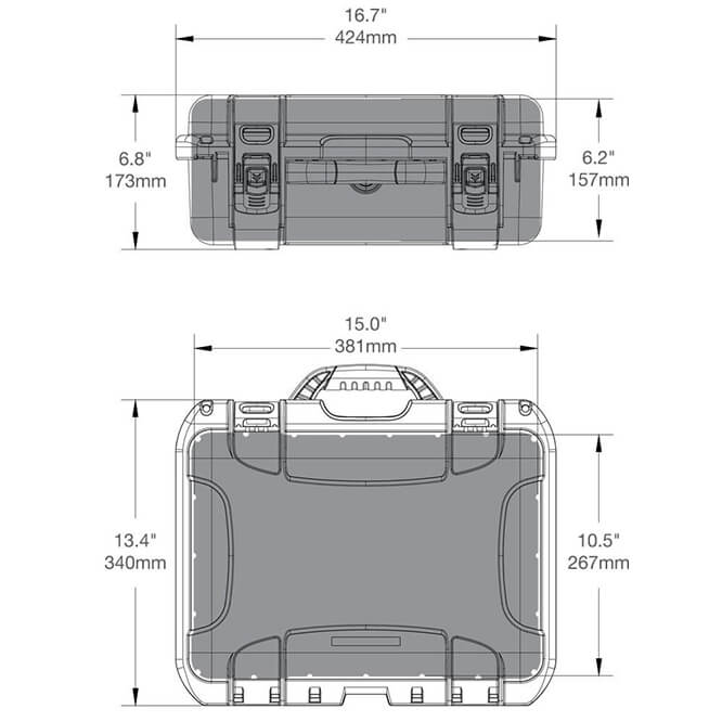 920 case dimensions